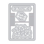 Sizzix - Gift and Gather Collection - Thinlits Die - Card, Gift Card Holder Pop-Up