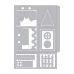 Sizzix - Made with Love Collection - Thinlits Die - House Favor Box