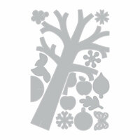 Sizzix - Made with Love Collection - Thinlits Die - Seasonal Tree