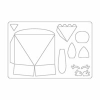 Sizzix - Bigz L Die - Box, Animal