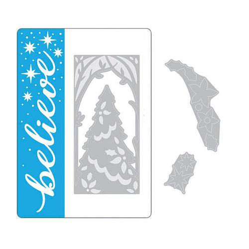 Sizzix - Christmas - Impresslits Embossing Folder - Magic of the Season