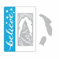 Sizzix - Christmas - Impresslits Embossing Folder - Magic of the Season