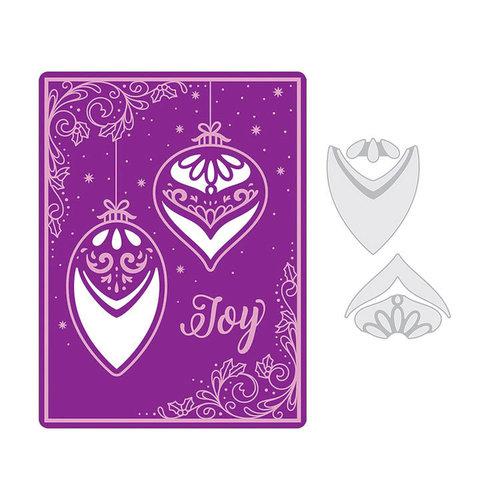 Sizzix - Christmas - Impresslits Embossing Folder - Season of Joy