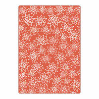 Sizzix - Celebrating Life Collection - Textured Impressions - Embossing Folders - Christmas Flowers