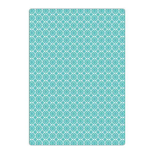 Sizzix - Celebrating Life Collection - Textured Impressions - Embossing Folders - Crosses and Geometrics