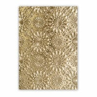 Sizzix - Tim Holtz - Alterations Collection - 3D Texture Fades - Embossing Folder - Fractal