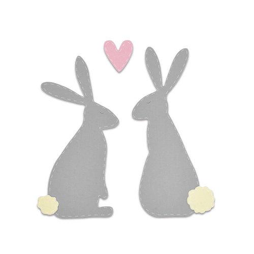 Sizzix - Bigz Die - Spring Hares