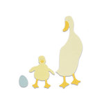 Sizzix - Bigz Die - Duck and Duckling