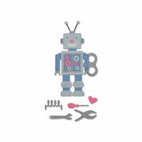 Sizzix - Thinlits Die - 50's Robot