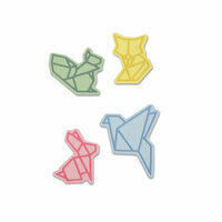 Sizzix - Thinlits Die - Origami Animals