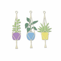 Sizzix - Thinlits Die - Hanging Planter