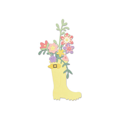 Sizzix - Thinlits Die - Rain Boot Planter