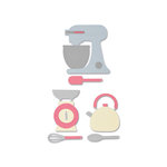 Sizzix - Thinlits Die - Kitchen Set