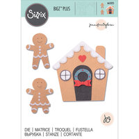 Sizzix - Christmas - Bigz Plus Die - Gingerbread House