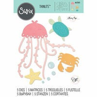 Sizzix - Thinlits Die - Under The Sea