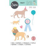 Sizzix - Thinlits Die - Party Cats