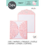 Sizzix - Thinlits Die - Floral Edges