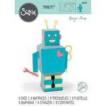 Sizzix - Thinlits Die - 3D Robot