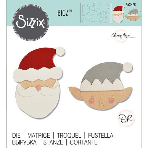 Sizzix - Christmas - Bigz Die - Santa & Elf
