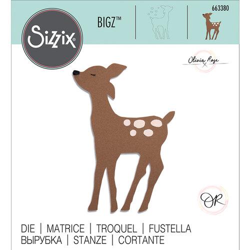 Sizzix - Bigz Die - Retro Deer