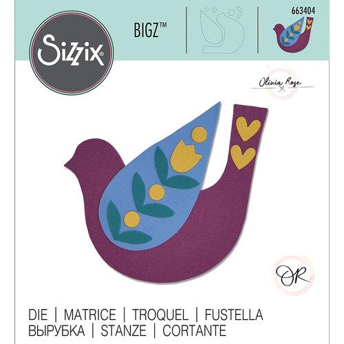 Sizzix - Bigz Die - Folk Bird