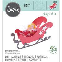 Sizzix - Christmas - Bigz Die - 3D Sleigh