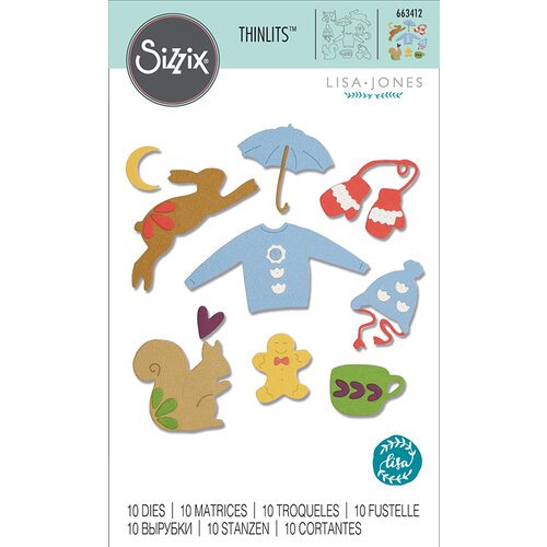 Sizzix - Thinlits Die - Winter Elements