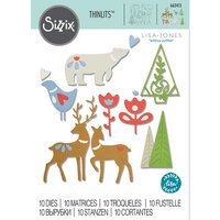 Sizzix - Thinlits Die - Christmas Elements