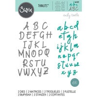 Sizzix - Thinlits Die - Alphabet Set