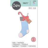Sizzix - Thinlits Die - Christmas Stocking