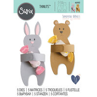 Sizzix - Thinlits Die - Bunny and Bear Hugs