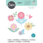 Sizzix - Thinlits Die - Flower Set