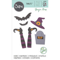 Sizzix - Halloween - Thinlits Die - Spooky Witch