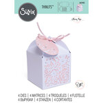 Sizzix - Thinlits Die - Decorative Favour Box