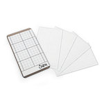 Sizzix - Sticky Grid Sheets - 2.5 x 4.5 - 5 Pack
