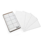Sizzix - Tim Holtz - Sticky Grid Sheets - 2.5 x 4.5 - 5 Pack