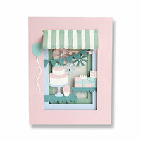 Sizzix - Thinlits Die - Birthday Shadow Box