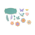 Sizzix - Thinlits Die - Spring Things