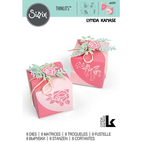 Sizzix - Thinlits Die - Wrap Favor Box