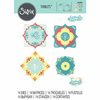 Sizzix - Thinlits Die - Corners and Labels