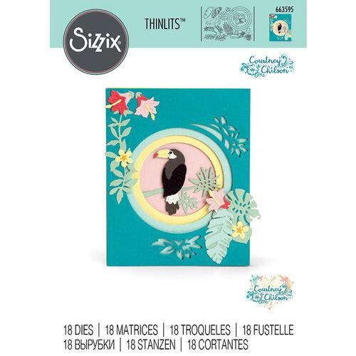 Sizzix - Thinlits Die - Jungle Shadow Box