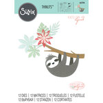 Sizzix - Thinlits Die - Sloth