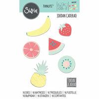 Sizzix - Thinlits Die - Summer Fruit