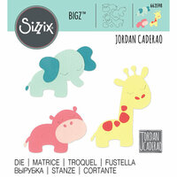 Sizzix - Bigz Die - Jungle Animals