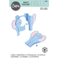 Sizzix - Thinlits Die - Card, Elephant Fold-a-Long