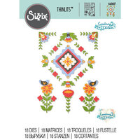 Sizzix - Thinlits Die - Folk Art Elements