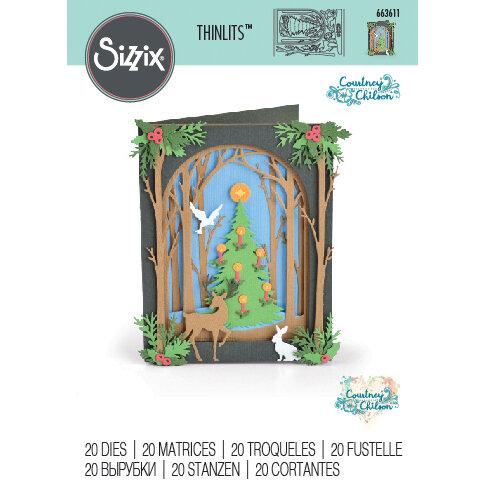 Sizzix - Thinlits Die - Christmas Shadow Box