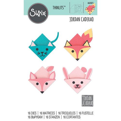 Sizzix - Thinlits Die - Animal Bookmarks