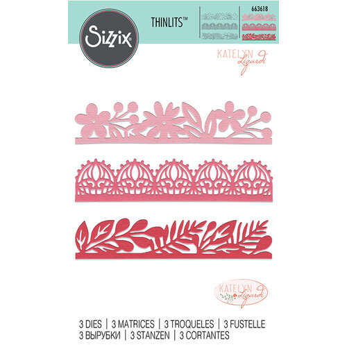 Sizzix - Thinlits Die - Decorative Edges