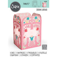 Sizzix - Thinlits Die - Folk Art Lantern